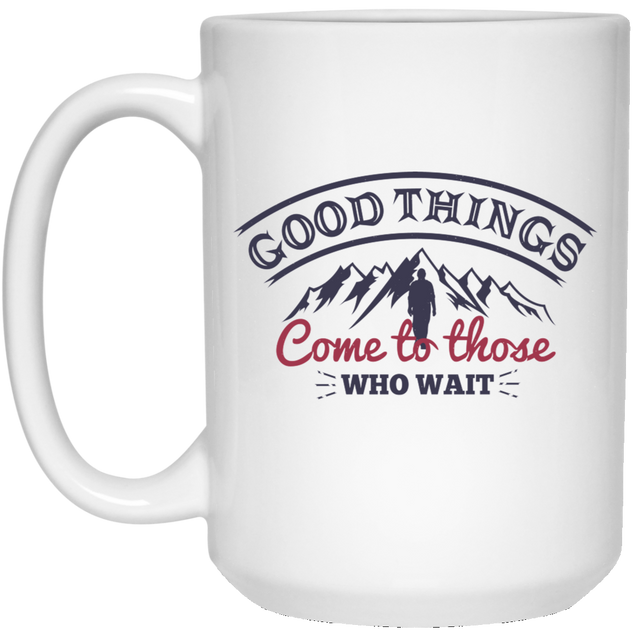 Good Things Christian 15 oz. White Mug