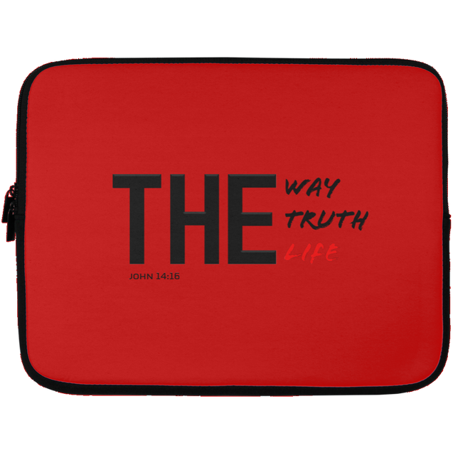 The Way Truth Life Christian Laptop Sleeve - 13 inch