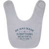 He Has Made Christian Baby Bib