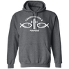 Created With a Purpose Christian Pullover Hoodie