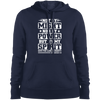 Not by Might Christian Pullover Hoodie