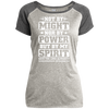 Might Power Christian Ladies Performance T-Shirt