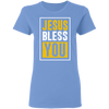 Jesus Bless You Christian Ladies' T-Shirt