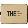 The Way Truth Life Christian Laptop Sleeve - 15 Inch