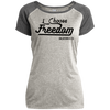 I Choose Freedom Christian Ladies Performance T-Shirt