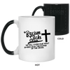 Racism Sucks Christian 11 oz. Color Changing Mug