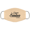 I Choose Freedom Christian Face Mask