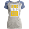 Jesus Bless You Christian Ladies Performance T-Shirt