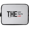 The Way Truth Life Christian Laptop Sleeve - 10 inch