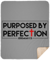 Purposed By Perfection Christian Sherpa Blanket - 50x60