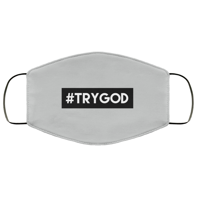 #TRYGOD Christian Face Mask