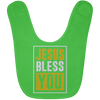 Jesus Bless You Christian Baby Bib