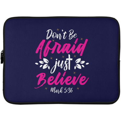 Believe Christian Laptop Sleeve - 15 Inch