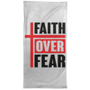 Faith Over Fear Christian Towel - 15x30