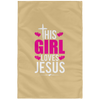 This Girl Loves Jesus Christian Wall Flag 3ft. x 5ft.