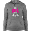 This Girl Loves Jesus Christian Pullover Hoodie
