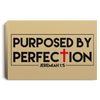 Purposed For Perfection Christian Landscape Canvas .75in Frame