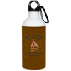 When The Ocean Rage Christian 20 oz. Stainless Steel White Water Bottle