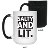 Salty & Lit Christian 15 oz. Color Changing Mug