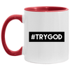 #TRYGOD Christian Accent Mug