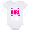 This Girl Loves Jesus - 12 Month Onesie