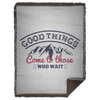 Good Things Christian Woven Blanket - 60x80