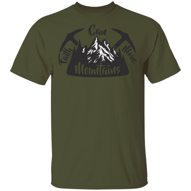 Move Mountains Christian Men's T-Shirt