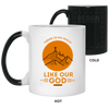 Like Our God Christian 11 oz. Color Changing Mug