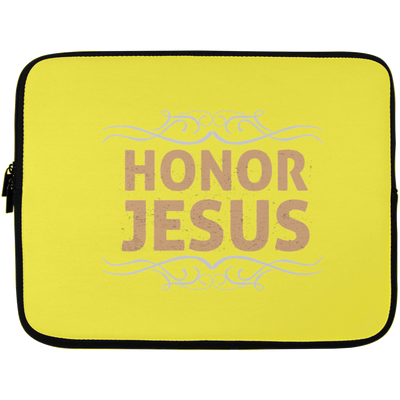 Honor Jesus Christian Laptop Sleeve - 13 inch