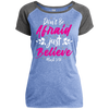 Believe Christian Ladies Performance T-Shirt