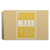 Jesus Bless You Christian Landscape Canvas .75in Frame