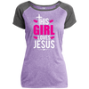 Girl Loves Jesus Christian Ladies Performance T-Shirt