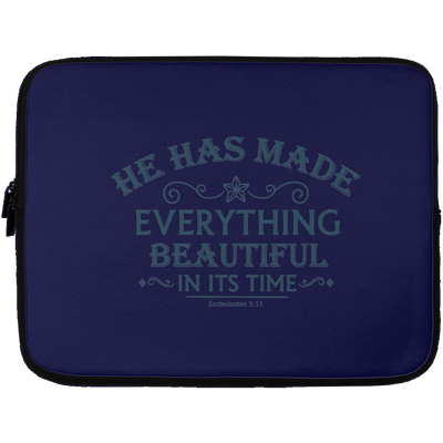 He Has Made Christian Laptop Sleeve - 13 inch