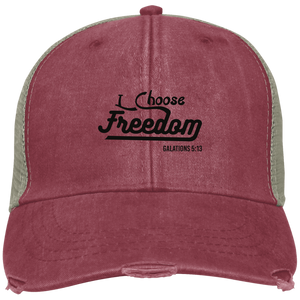I choose Freedom Embroidered Christian Ollie Hat