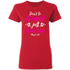 Believe Christian Ladies' T-Shirt