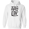 Salty And Lit Christian Pullover Hoodie