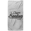 I Choose Freedom Christian Oversized Beach Towel - 37x74