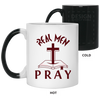 Real Men Pray Christian 11 oz. Color Changing Mug