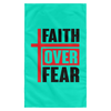 Faith Over Fear Christian Wall Flag 3ft. x 5ft.