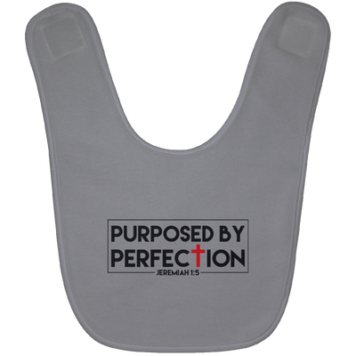 Purposed by Perfection Christian Baby Bib
