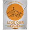 Like Our God Christian Arctic Fleece Blanket 50x60