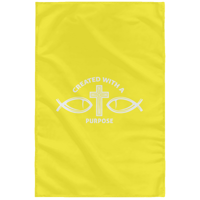 Created With A Purpose Christian Wall Flag 3ft. x 5ft.
