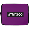 #TRYGOD Christian Laptop Sleeve - 13 inch
