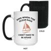 When The Ocean Rage Christian 15 oz. Color Changing Mug