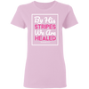 By His Stripes Christian Ladies' T-Shirt
