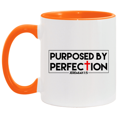 Purposed For Perfection Christian Accent Mug
