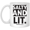 Salty & Lit Christian 11 oz. White Mug