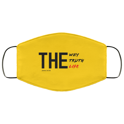 The Way Truth Life Christian Face Mask