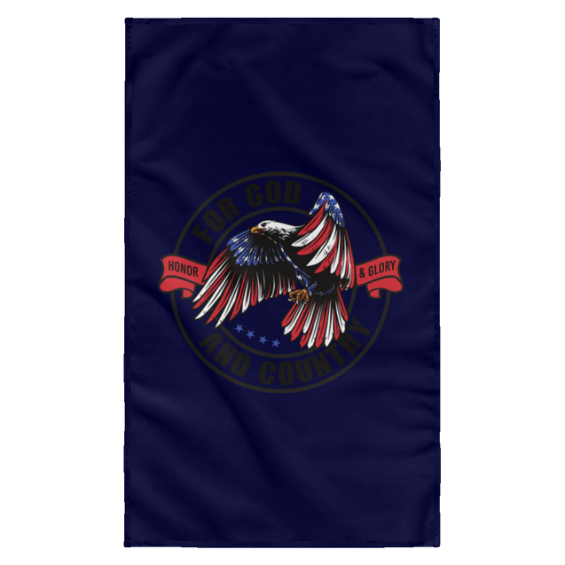 For God & Country Christian Wall Flag 3ft. x 5ft.
