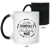 Fearfully & Wonderfully Made Christian 11 oz. Color Changing Mug